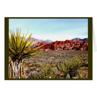 Las Vegas Tours: Red Rock Canyon Card