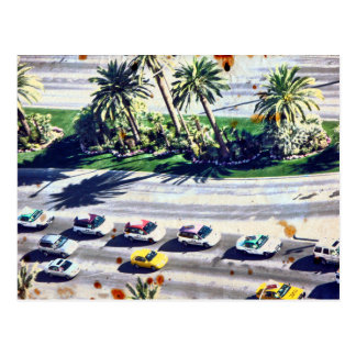 Las Vegas Traffic Postcard