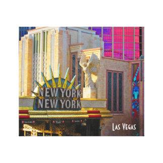 Las Vegas Travel Collection - New York - New York Canvas Print