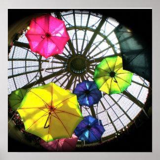 Las Vegas Umbrellas Posters