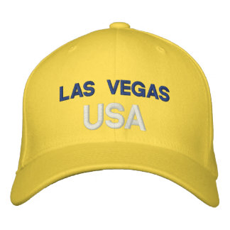 Las Vegas USA Embroidered Hats