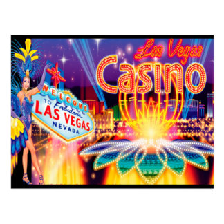 Las Vegas Vacation Postcard