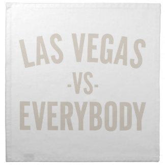 Las Vegas Vs Everybody Napkin