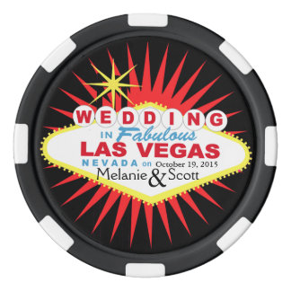 Las Vegas Wedding Casino Chip