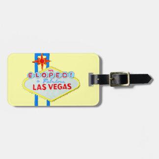 Las Vegas Wedding Elope Luggage Tag