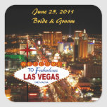 Las Vegas Wedding Sticker