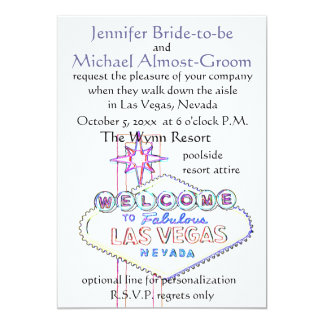 Las Vegas Wedding : walk down the aisle Card