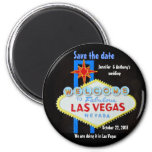 Las Vegas Weddings personalised Save the Date