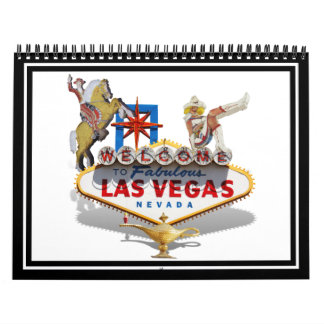 Las Vegas Welcome Sign Calendar