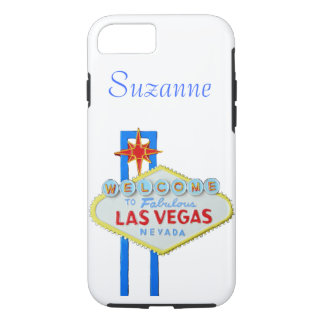 Las Vegas Welcome Sign iPhone 7 Case