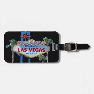 Las Vegas Welcome Sign Luggage Tag