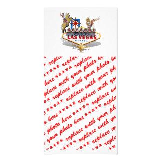Las Vegas Welcome Sign Custom Photo Card