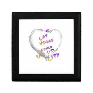 Las Vegas world city, Heart Gift Box