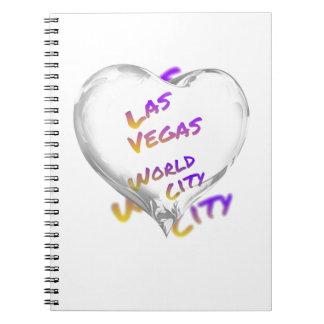 Las Vegas world city, Heart Notebooks