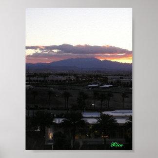 Las Vegas's Sky Posters
