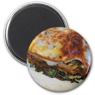 Lasagna Food Magnet