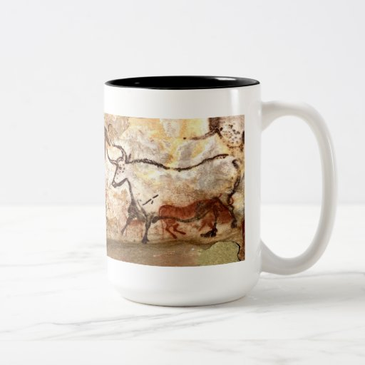 Lascaux Cave Painting: Bulls Coffee Mug