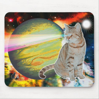 Laser-Cat Mossbody Mouse Pad