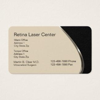 Laser Eye Care Center Business Card