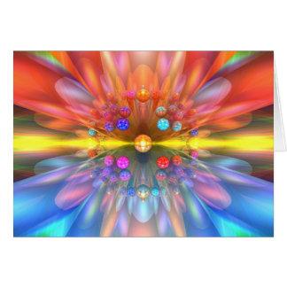 Laser Flower Card