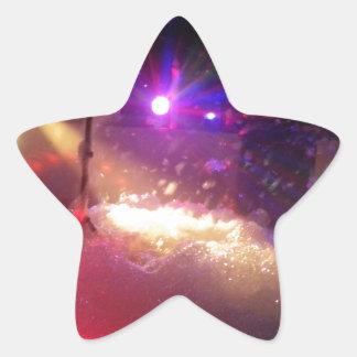laser foam fun star sticker