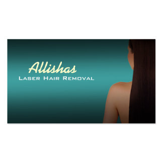 Laser Hair Removal Business Cards