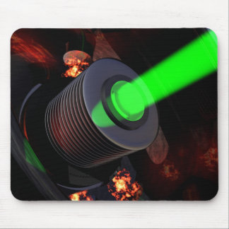 Laser Head Mouse Pad