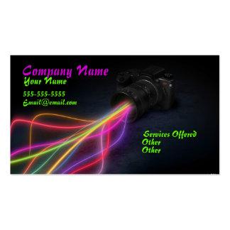 Laser Light Business Card