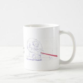 Laser Ogre with Goggles Cartoon Mug