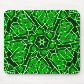 Laser Snowflake Mouse Pad