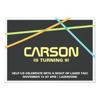 Laser Tag Invite