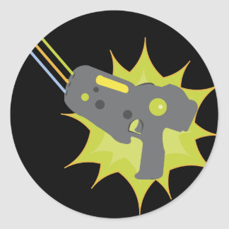 Laser Tag Stickers