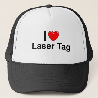 Laser Tag Trucker Hat