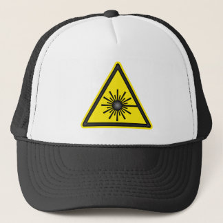Laser Warning Symbol Cap