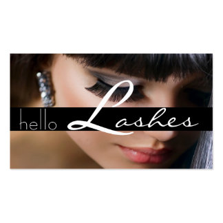 Lash Extensions Lashes Beauty Cosmetology Salon Business Card