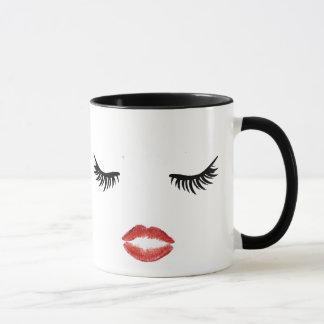 Lashes & Lipstick Mug