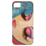 """Lashes"" Phone Case Original Art by LaurieSmith Case For The iPhone 5"
