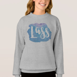 Lass, Scottish, Newcastle Dialect Sweatshirt