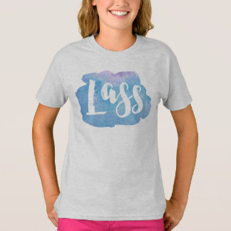 Lass, Scottish, Northern English Dialect Tee Shirt