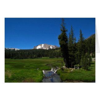 Lassen Peak, Lassen National Park Card