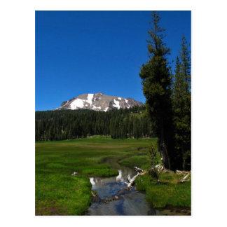 Lassen Peak, Lassen National Park Postcard