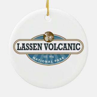 Lassen Volcanic National Park Ceramic Ornament
