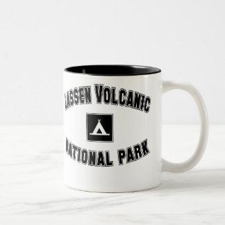 Lassen Volcanic National Park Two-Tone Coffee Mug