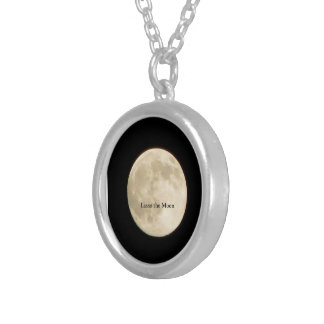 Lasso the Moon II Silver Plated Necklace