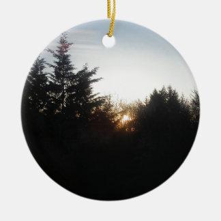 Last bit of energy ceramic ornament