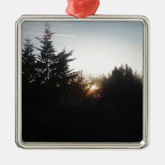 Last bit of energy metal ornament