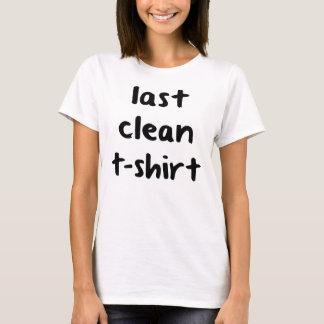 Last Clean T-Shirt T-Shirt, Statement Tee, Tumblr