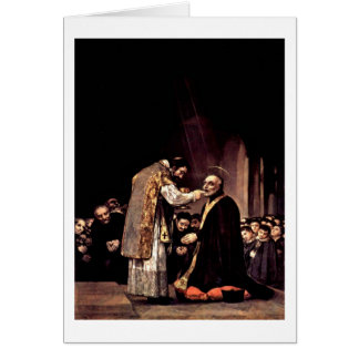 Last Communion Of St.Joseph By Francisco De Goya Card