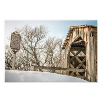Last Covered Bridge in Wisconsin Cedarburg, WI Photo