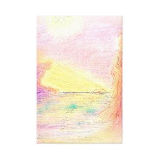 Last fires canvas print
